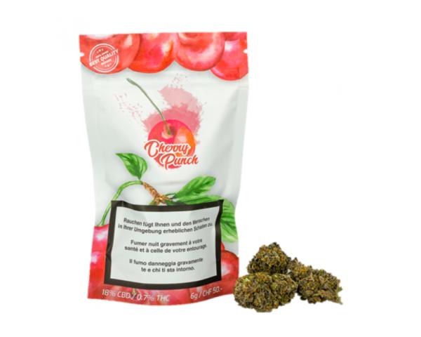 Cherry Punch CBD Blüten 6 g