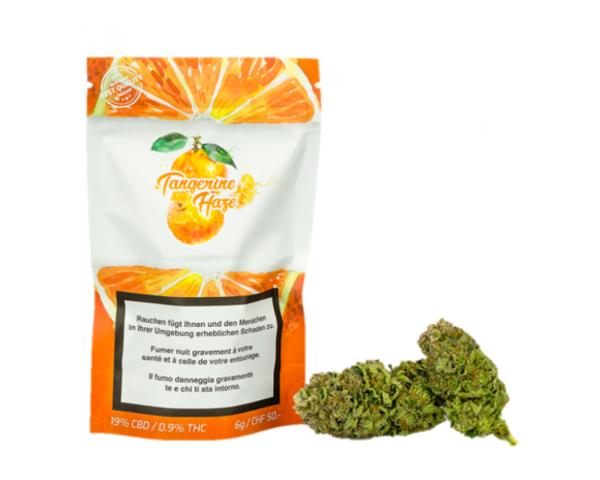 Tangerine Haze CBD Blüten 6g