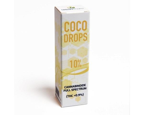 CBD ÖL 10% MCT 10g COCODROPS