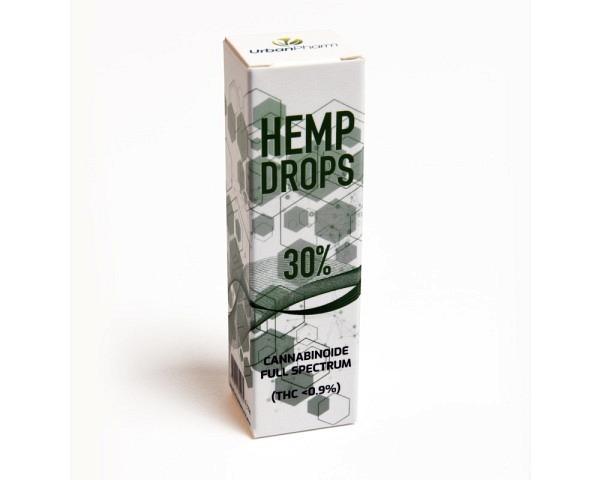 CBD huile 30% de chanvre 10g HEMPDROPS